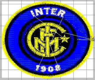 download free soccer football logo embroidery design