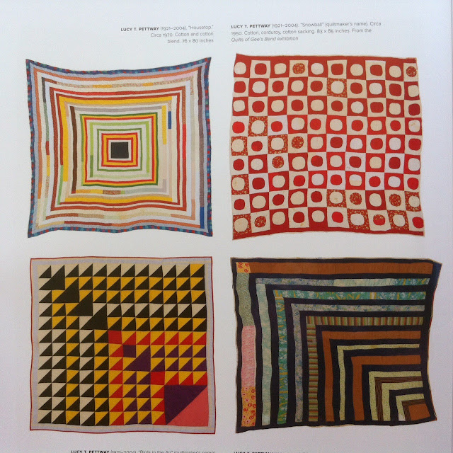 Lucy T. Pettiway quilt. Ge'ez Bend, the Architecture of the Quilt.