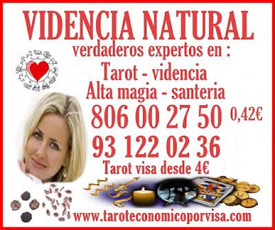 tarot 0.42€ por minuto, tarot barato visa, tarot con visa, tarot económico visa, videncia económica, Videncia Natural María 806 barato, vidente certera, vidente en Barcelona,