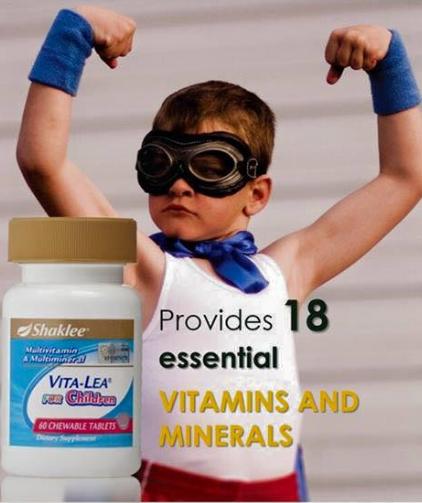 vitalea untuk anak-anak