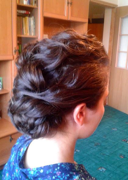 fryzura ślubna 77