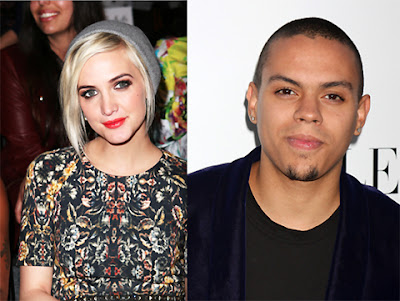 Ashlee Simpson Dating Evan Ross