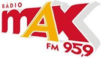 ouvir a Rádio Max FM 95,9 ao vivo e online Itajubá MG