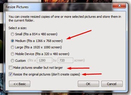 Cara Mudah dan Cepat Mengecilkan Ukuran Foto