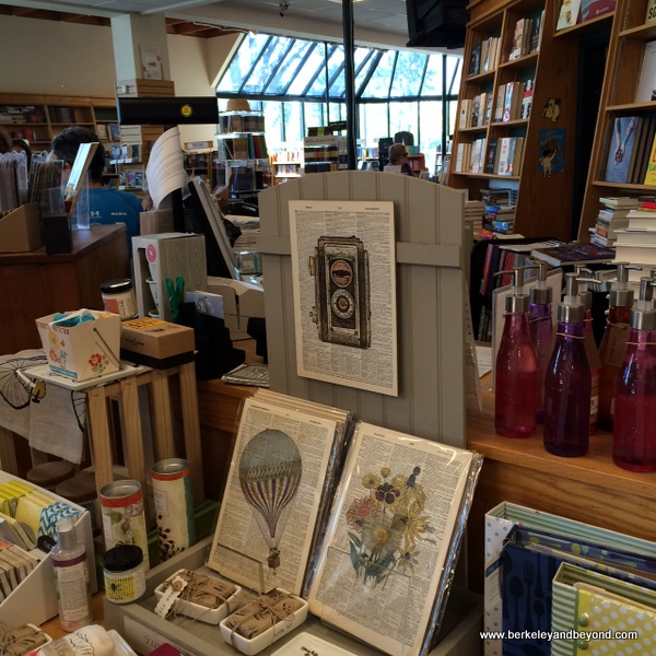 interior of Book Passage in Corte Madera, California