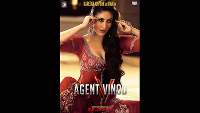 Red hot Kareena Kapoor Agent Vinod HQ Wallpaper