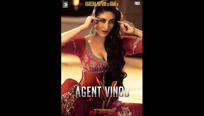 Red hot Kareena Kapoor Agent Vinod HQ Wallpaper