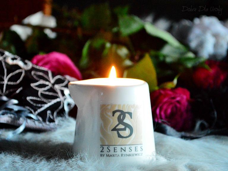 Świeca Wanilia z nutą cytrusową i akcentem kwiatowym
