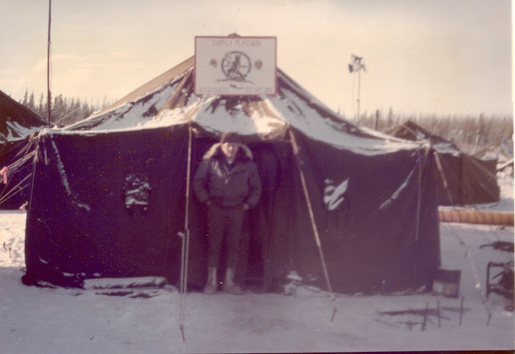 Fort Greely – Feb 1974 – temperature outside -98ºF