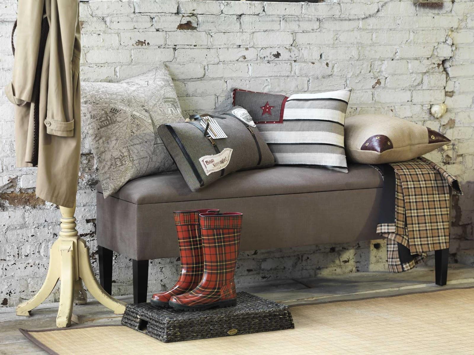 almofadas decorativas espaços pequenos