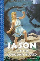 bookcover of JASON AND THE GORGON'S BLOOD  (Young Heroes) by Robert J. Harris and Jane Yolen