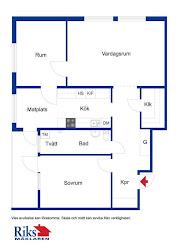 Carolines lägenhet