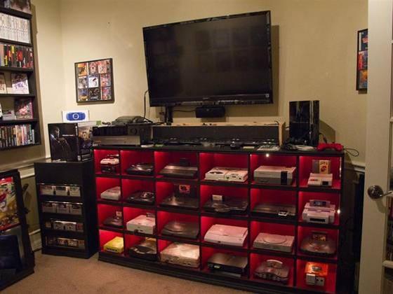La mejor sala hogareña de videogames 2