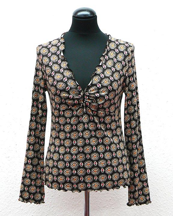Schnittmuster - Nähanleitung: Shirt Uppsala - 01-96 - schnittquelle ...