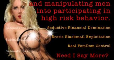 Miss blackmail mistress slave financial domination
