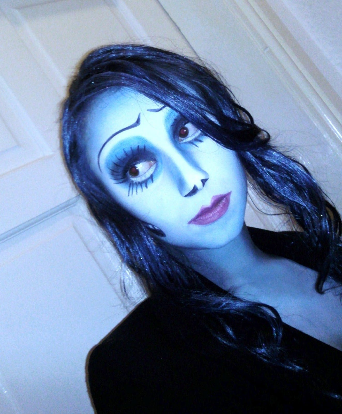 Corpse Bride Makeup Pictures : ScarletHallow Makeup: Corpse Bride Look :)