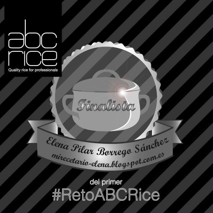 Finalista del 1er #RetoABCrice