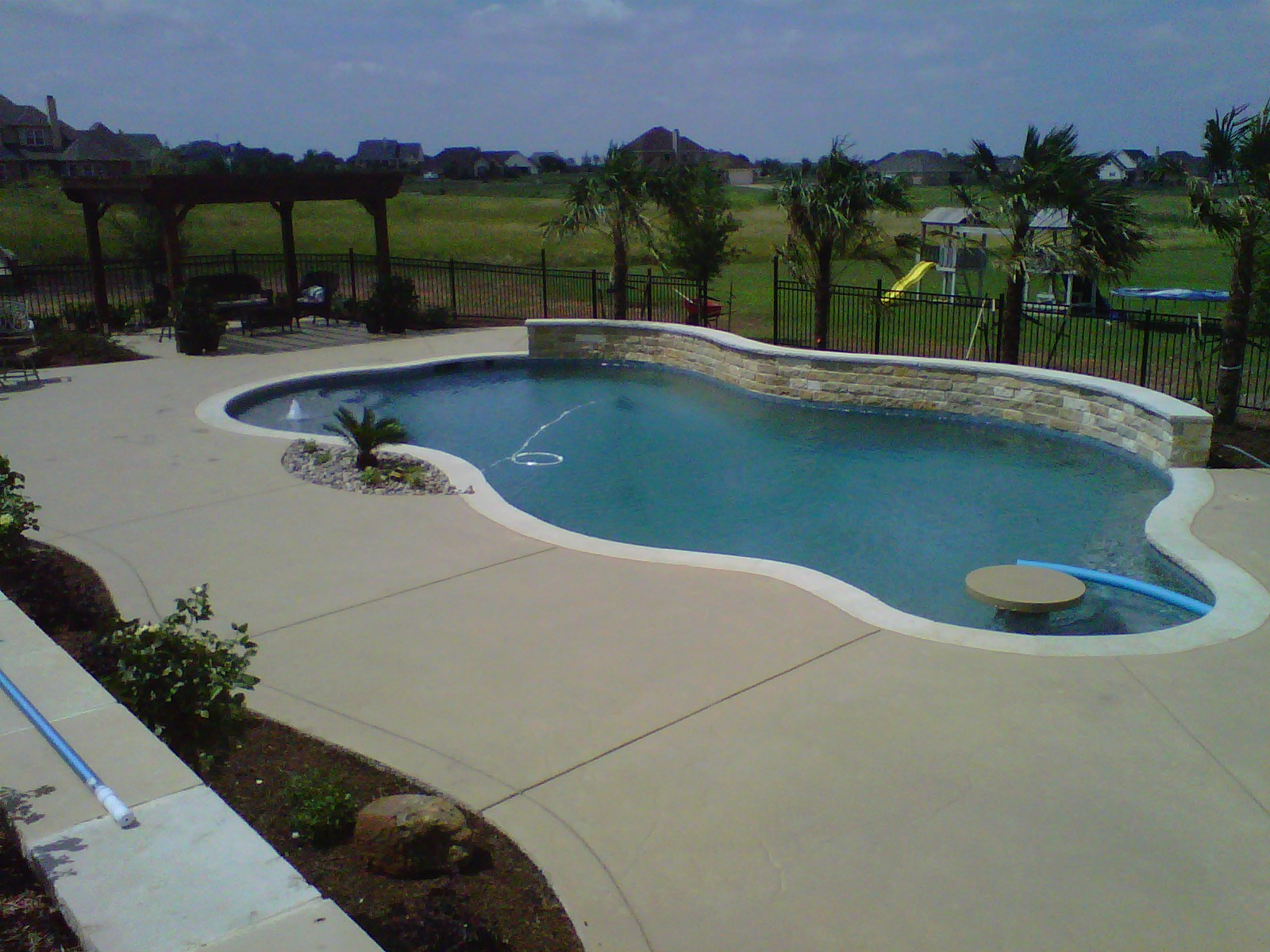 freeform pool in texas - started 3/27/12 - finished!!