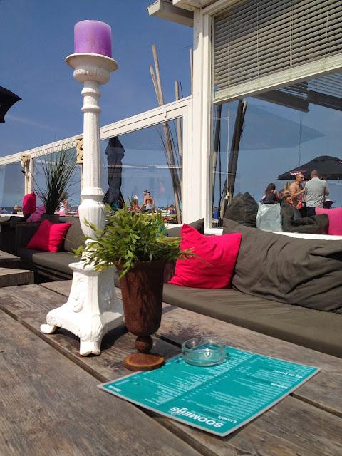 Chilling on Scheveningen Beach