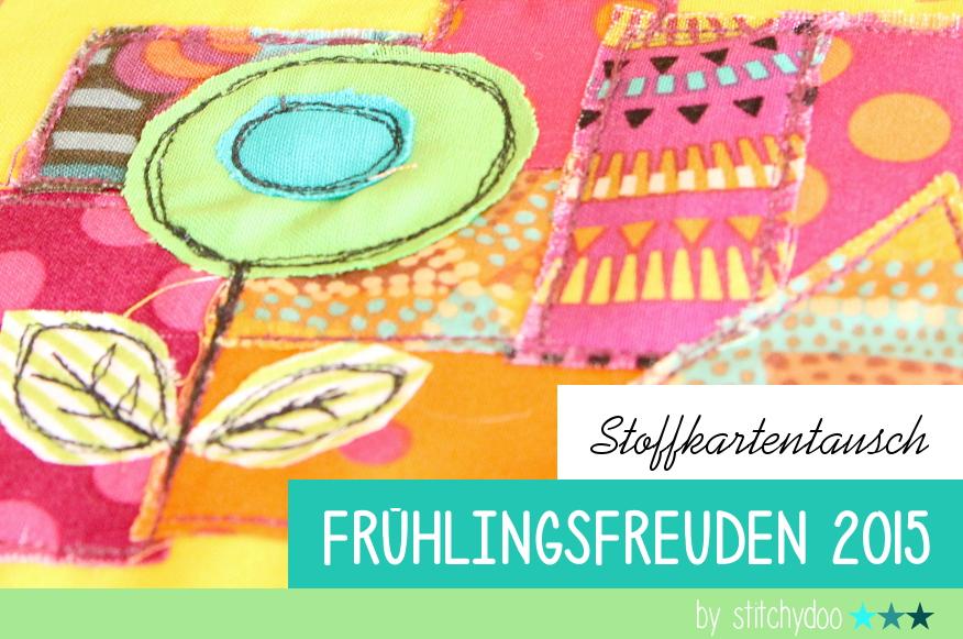 stitchydoo: Stoffkartentausch Frühlingsfreuden 2015