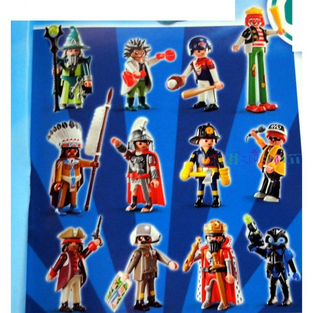 Playmobil fi ures series 4 coming soon