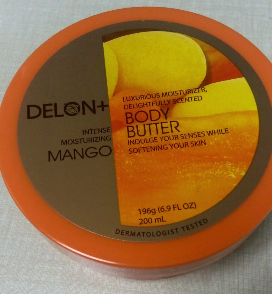 asian body butter by delon