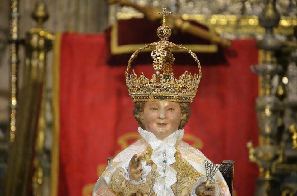 Niño Jesús - Virgen de los Reyes - Sevilla