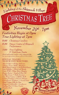 skippack christmas tree lighting 2013