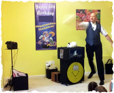 Magic - Great magic show complete with rabbit and balloon ...