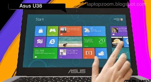 review, harga, dan sepesifikasi Laptop Asus U38