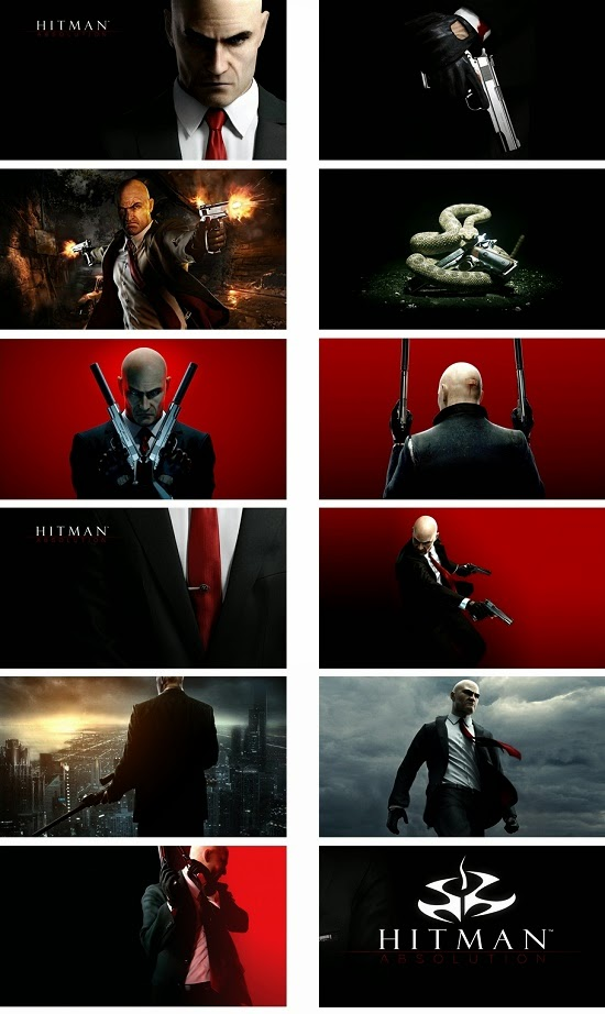 Hitman Absolution Theme For Windows 7 And 8 8.1