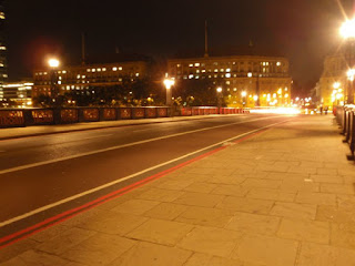 Lambeth Bridge at night