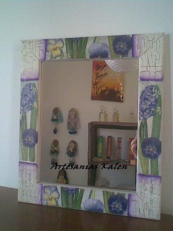 Gemas - Espejos decorados a mano ...