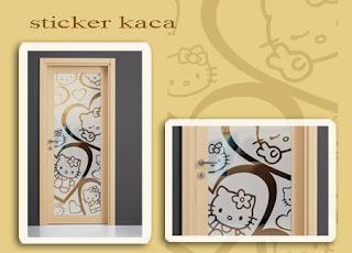 Desain Stiker Kaca Jendela Kamar Anak