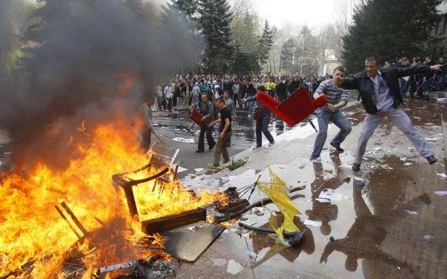 Protestele anti-comuniste din primăvara anului 2009 au fortificat societatea civilă din Republica Moldova FOTO: Adevărul