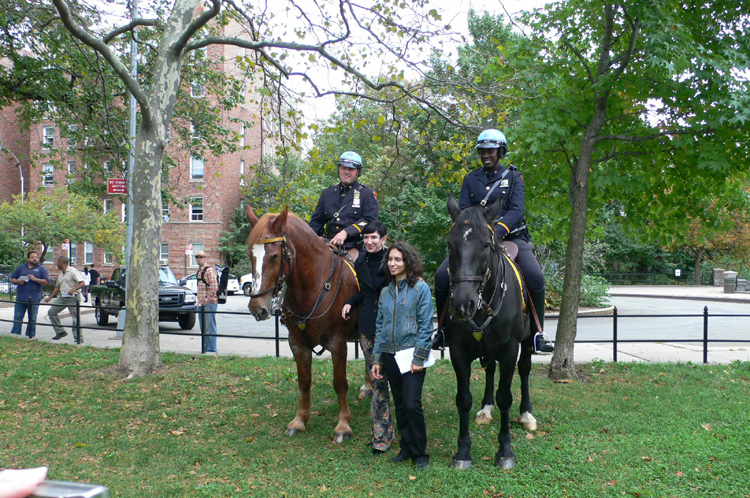 how to become a mounted police officer in nyc