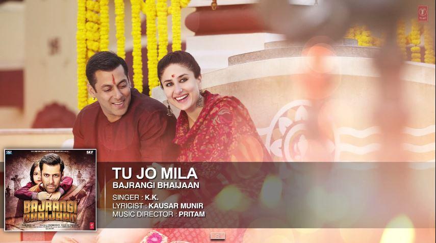 Tu Jo Mila KK Guitar Chords - Bajrangi Bhaijaan - TheDeepak.Com
