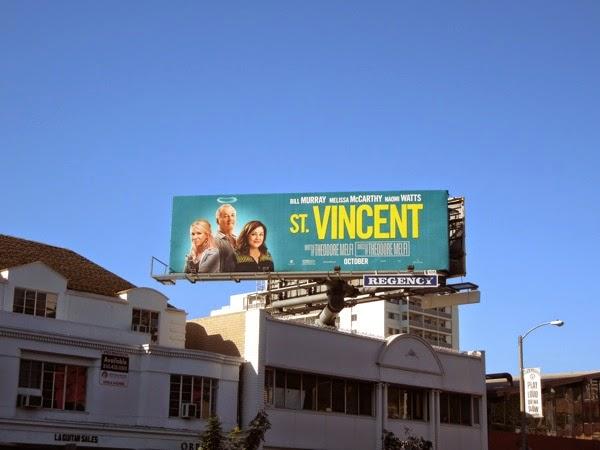 St Vincent movie billboard