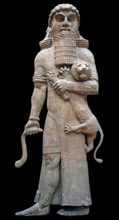 Gilgamesh o Bilgames: prototipo de rey títere, hijo de padre desconocido (Lugalbanda)