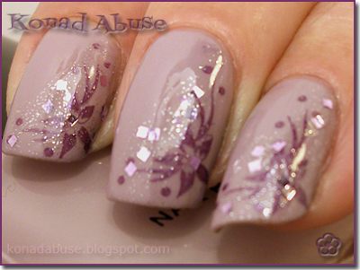 ELF Lilac, Barry M 239 Lavender Hexograms and GCOCL G14