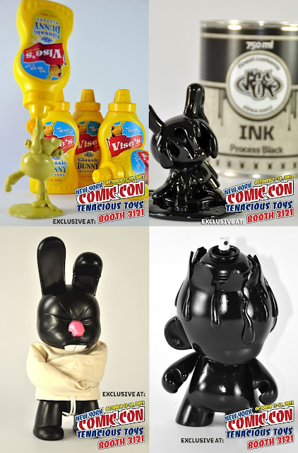 New York Comic-Con 2012 Exclusive Custom Vinyl Figures by VISEone