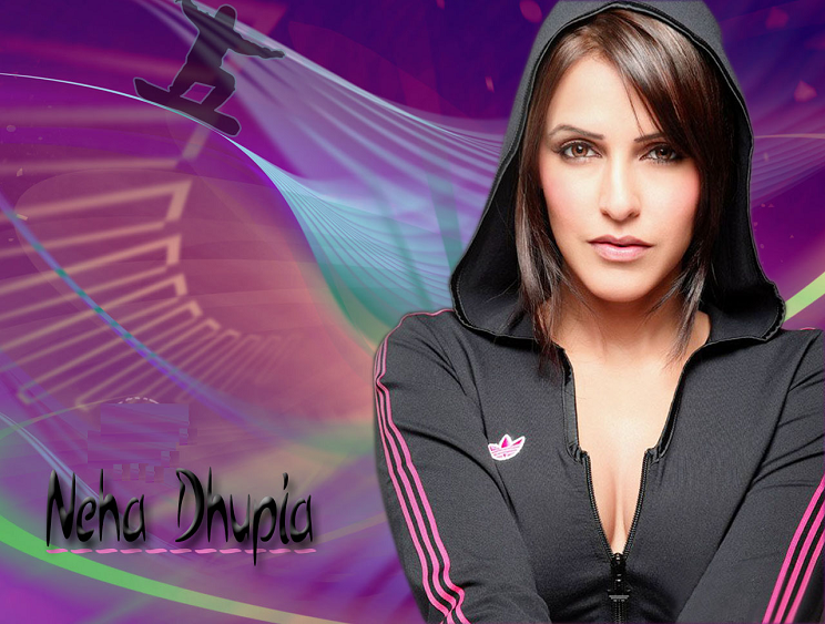 Neha dhupia sexy wallpaper