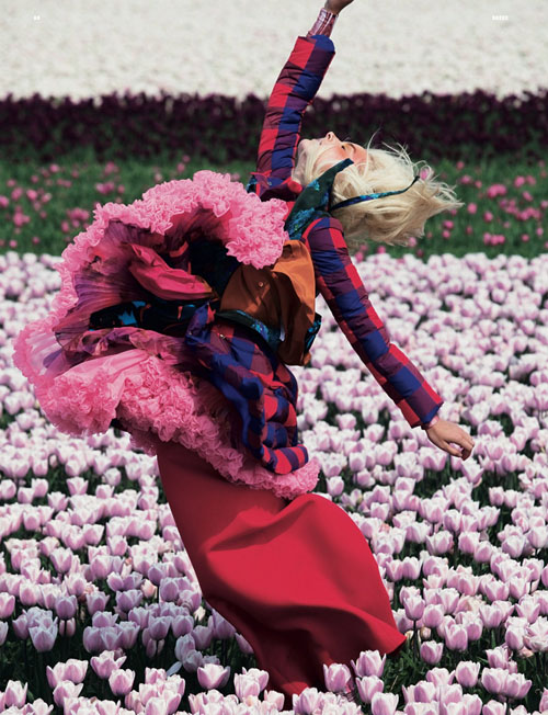 Dutch super model Lisanne De Jong