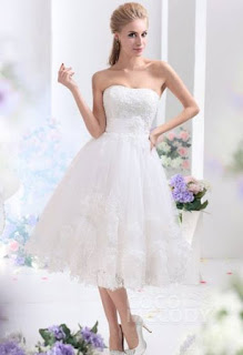 http://www.cocomelody.com/a-line-ivory-tea-length-strapless-lace-wedding-dress-cwla13003.html
