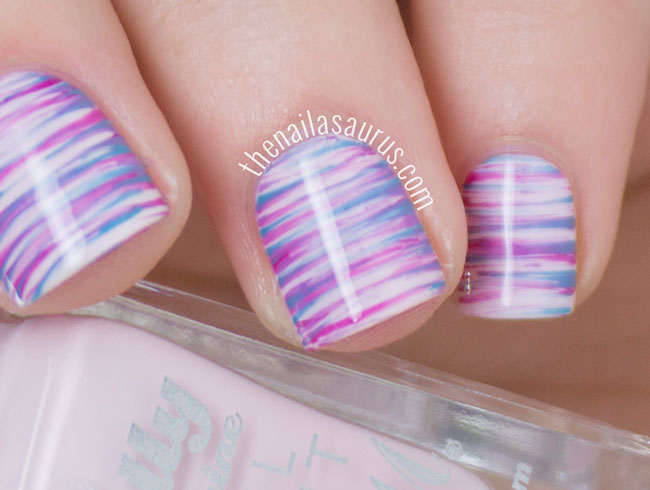 Nail art designs with brushes nail art designs step by for beginners nail art designs with brushes easter fan brush nail art the nailasaurus uk prinsesfo Image collections