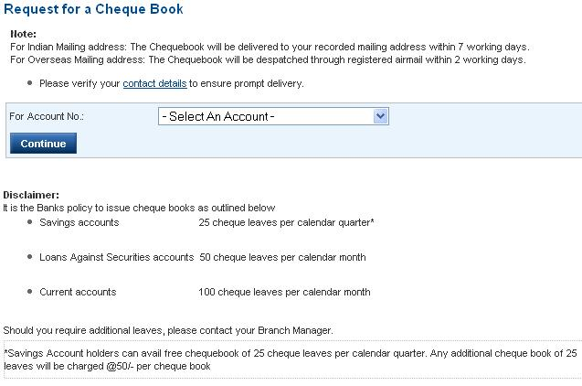 how to change mailing address in hdfc bank