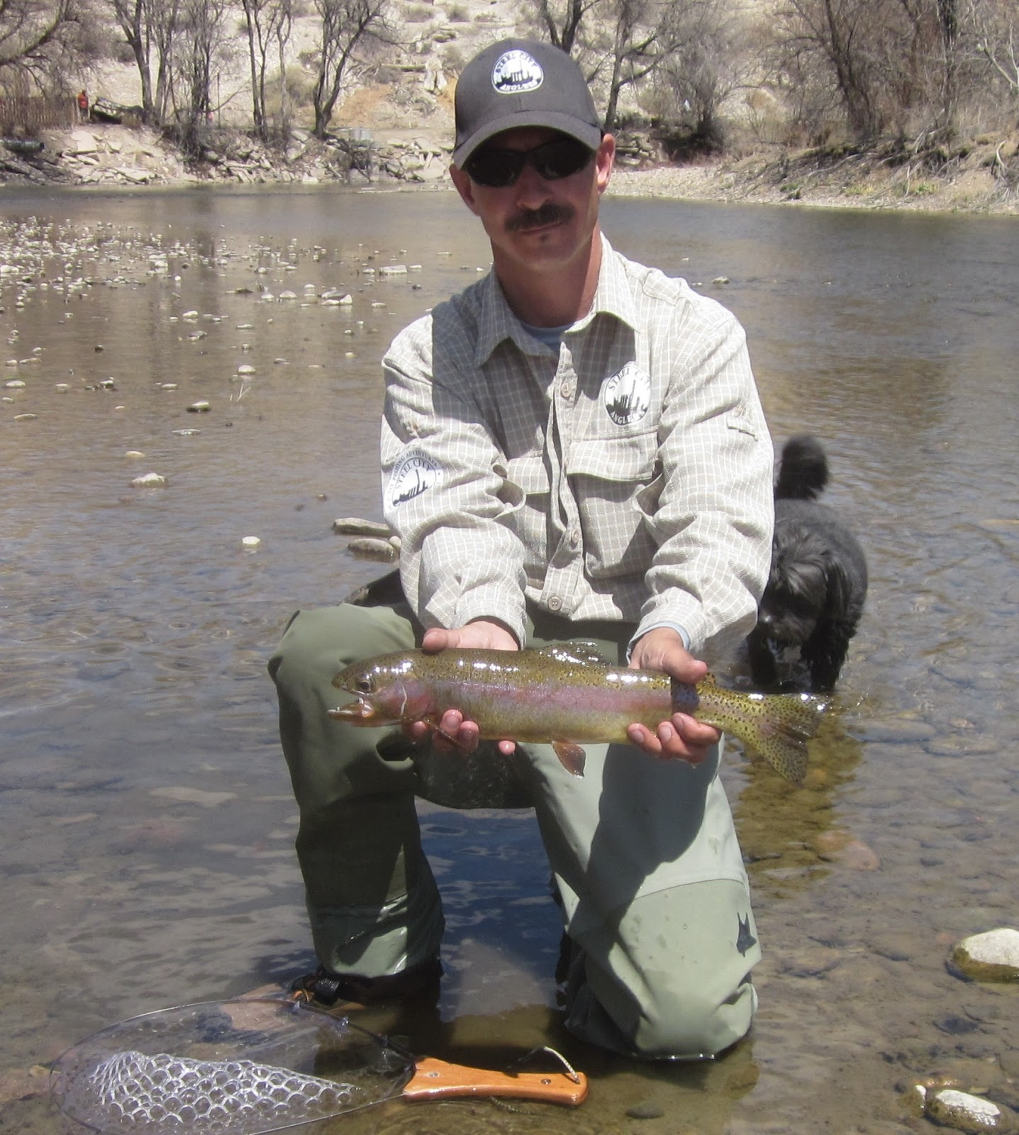 Arkansas river tailwater fly fishing report april 2013 for Seven b s fishing report