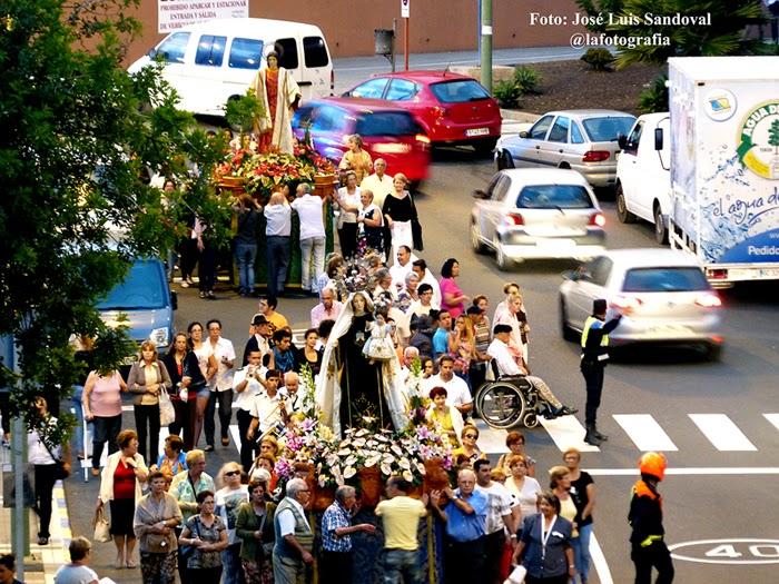 profesion san esteba y virgen del carmen la paterna 2014, las palmas de gran canaria