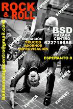 INTENSIVO EXPRESS DE ROCK & ROLL INICIAL EL DOMINGO 11 DE JUNIO EN BSD MÁLAGA CENTRO.