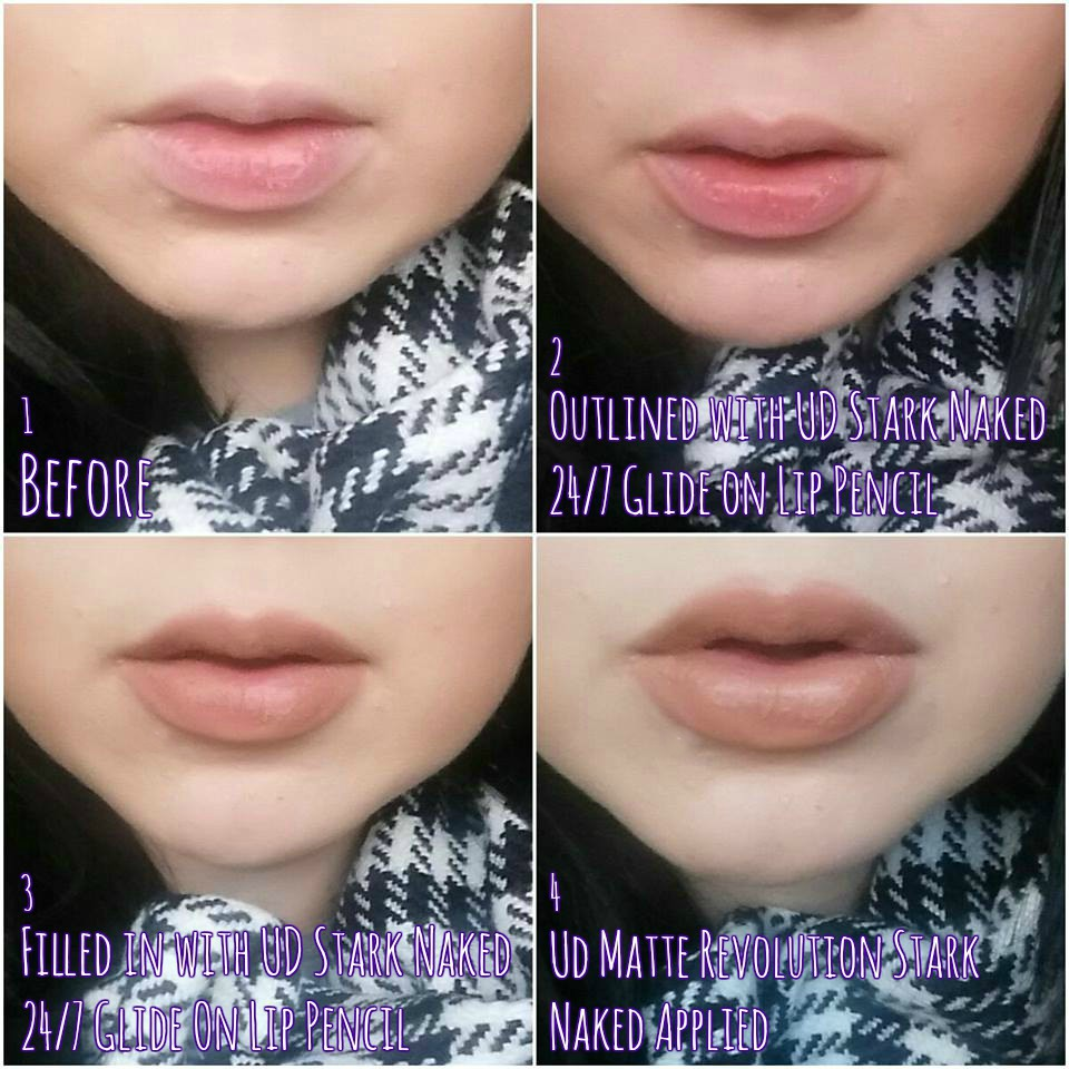 Urban Decay Stark Naked Lips | Lipstick And Louboutins Blog